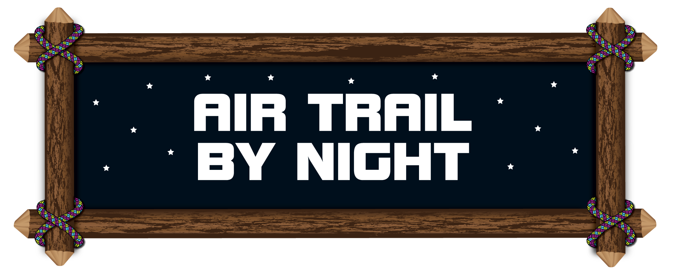 air-trail-by-night-wooden-sign