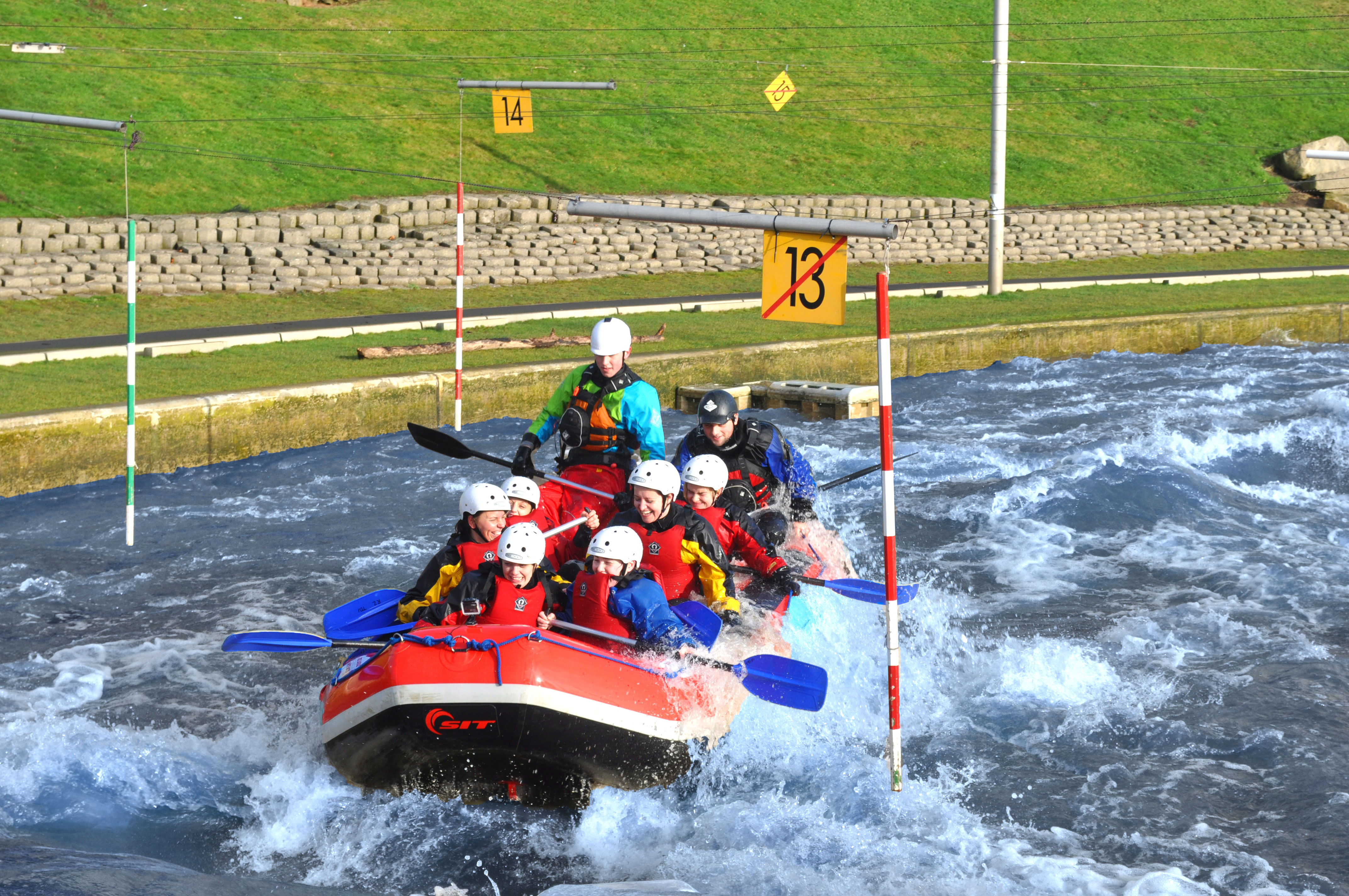 White Water Rafting | Air Trail Tees Barrage