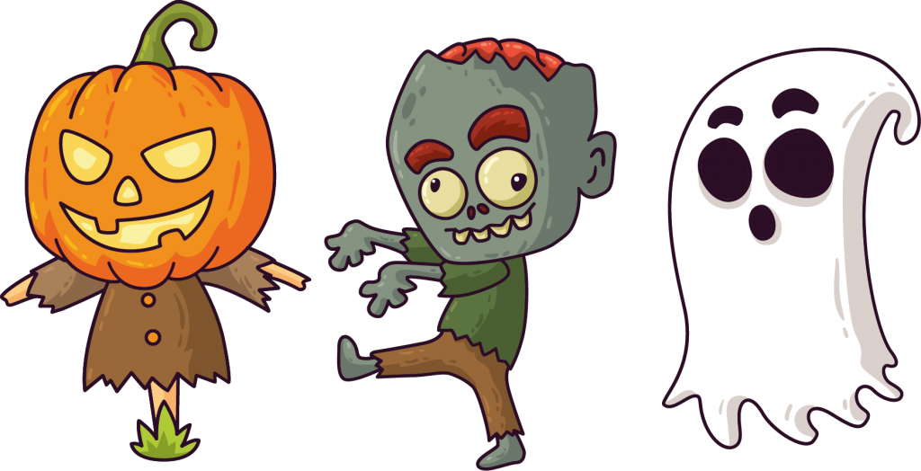 SCARECROW ZOMBIE GHOST